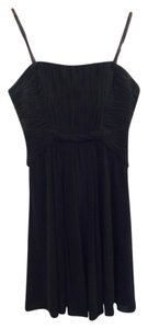 BCBGMAXAZRIA Strapless Party Pleated Dress