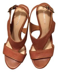 Gianni Bini Tan Wedges