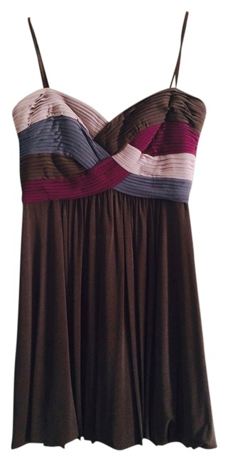 Preload https://item2.tradesy.com/images/bcbgmaxazria-purple-lavender-and-browngrey-bcbg-strapless-above-knee-cocktail-dress-size-6-s-988806-0-0.jpg?width=400&height=650