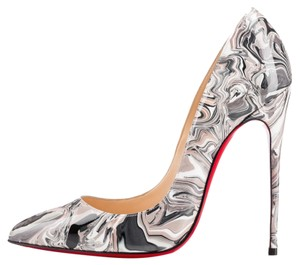 Christian Louboutin marble gray multicolor Pumps