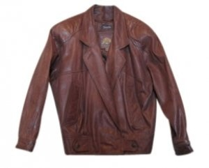 Adventure Bound Brownish-Rust Leather Jacket