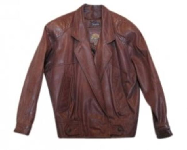 Item - Brownish-rust Thinsulate Zip-out Lining Jacket Size 12 (L)