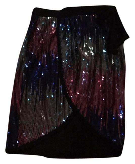 Preload https://item5.tradesy.com/images/multi-color-front-open-sequinned-knee-length-skirt-size-8-m-29-30-9888874-0-1.jpg?width=400&height=650