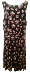 Just Ginger short dress Black/Pink on Tradesy