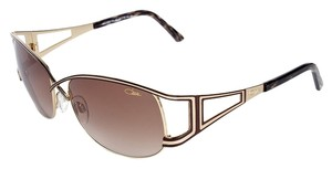 Cazal Cazal CZ9048 002 Black/Gold Gradient Oversized Unisex Sunglasses