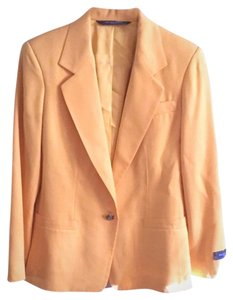 Austin Reed Padded Shoulders yellow Blazer