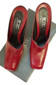 BCBGMAXAZRIA Red Platforms