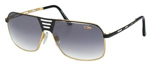 Cazal Cazal CZ9051 001 Black Gold Oversized Unisex Sunglasses