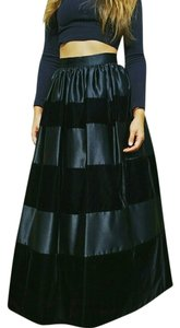Jessica McClintock Vintage Ball Gown Formal Skirt BLACK