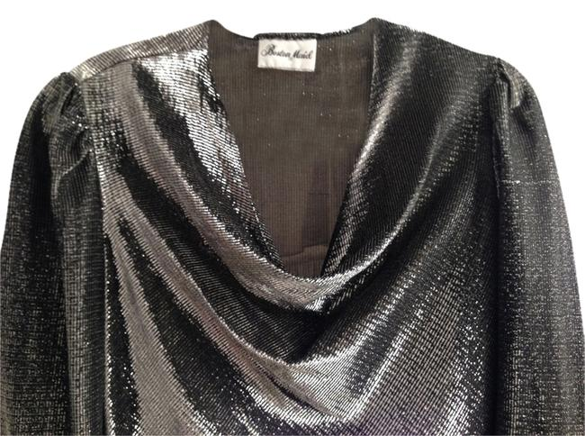 Boston Maid Vintage Top Black Shimmer