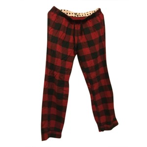 J.Crew Relaxed Pants Red and black