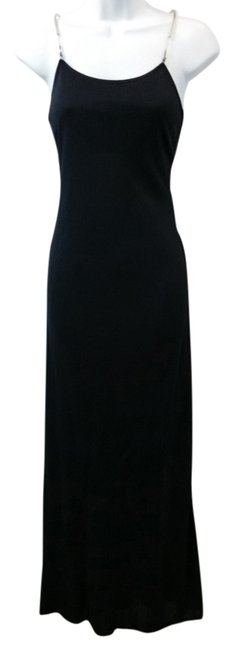 Preload https://img-static.tradesy.com/item/9890701/moschino-black-cheap-and-chic-long-cocktail-dress-size-6-s-0-2-650-650.jpg