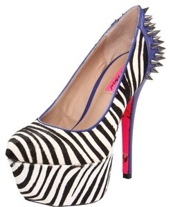 Betsey Johnson Spikey Stilleto Platform Multi Pumps