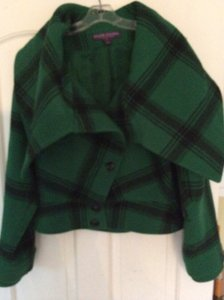 Ralph Lauren Green and Black Plaid Jacket