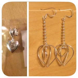 925 silver Set Of Earrings And Pendant