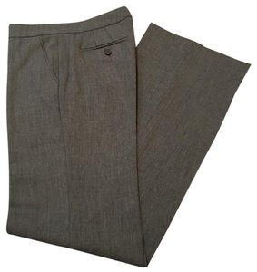 Zara Work Tweed Trouser Pants Gray