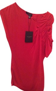 Ted Baker Luxury Top Dk Red