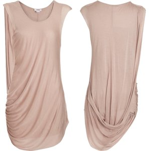 Helmut Lang Cap Sleeve Wrap Micromodal Dress