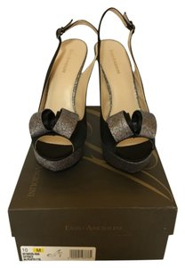 Enzo Angiolini Black and pewter Formal