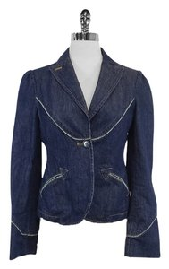 Marc Jacobs Blue Cotton Denim Womens Jean Jacket