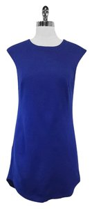 Trina Turk short dress Blue Sleeveless on Tradesy