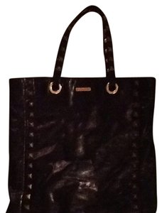 Rebecca Minkoff Tote in Black With Gold/Brass Studs And Hardware