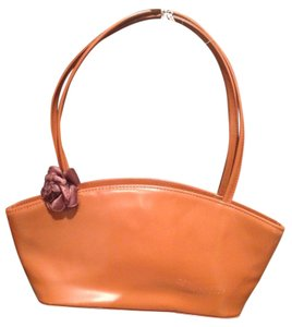 Elegance Satchel in Caramel Brown