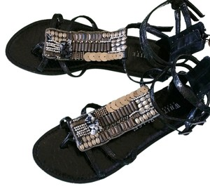 White House | Black Market Black Sandals