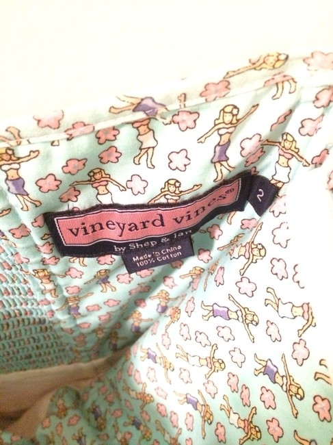 Vineyard Vines short dress Multi-colored Patchwork on Tradesy