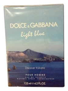 Dolce&Gabbana New and Sealed dolce gabbana d&g light blue discover vulcano pour homme edt 4.2fl.oz limited edition