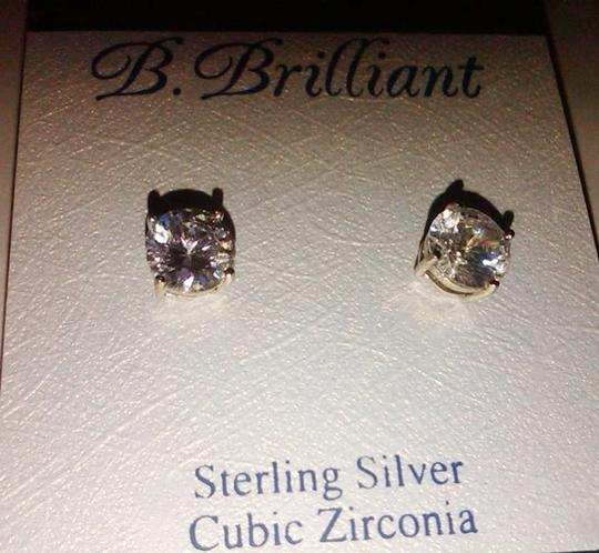 Preload https://img-static.tradesy.com/item/989708/b-brilliant-clear-silver-sterling-cubic-zirconia-stud-solitaire-4-ct-tw8mm-earrings-0-0-540-540.jpg