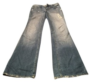 Sacred Blue Boot Cut Jeans