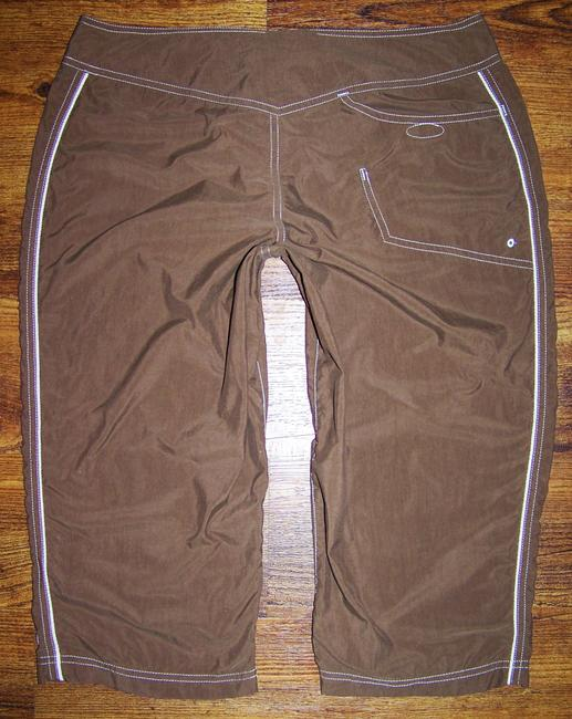 The North Face Hiking Camping Fitness Walking Capris Brown