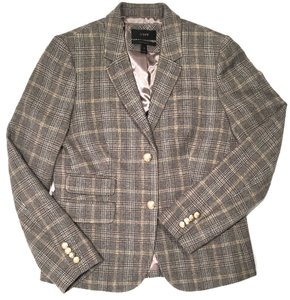 J.Crew J Crew Schoolboy Cheap Tweed Brown+ Blazer