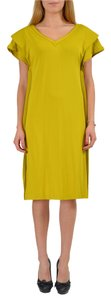 Maison Martin Margiela short dress Mustard Yellow on Tradesy