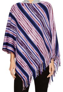 Missoni Knit Shawl Pullover Cape