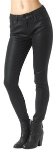Silver Jeans Co. Wet Look Skinny Jeans-Dark Rinse