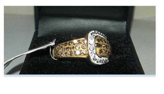 Kaleidoscope 20% OFF Limited Time-Swarovski Crystals Sterling Silver Buckle Ring