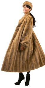 PASTEL MINK COAT Fur Ranch Fur Fur Coat