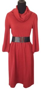 a.n.a. a new approach short dress Red on Tradesy