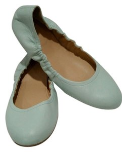 J.Crew Ballet Mint Tiffany Pale Turquoise Flats