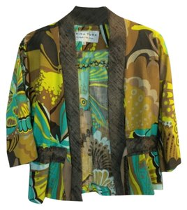Trina Turk Brown / Green / Yellow Jacket