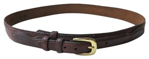 Brighton Brighton Overlap Leather Belt