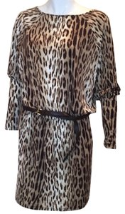 Michael Kors short dress Leopard on Tradesy