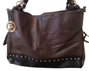 Alfani Flora Studded Tote in Brown