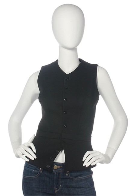 Preload https://img-static.tradesy.com/item/9903835/balenciaga-black-structured-sleeveless-button-down-top-size-4-s-0-1-650-650.jpg
