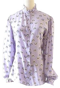 Paul & Joe Button Down Shirt purple