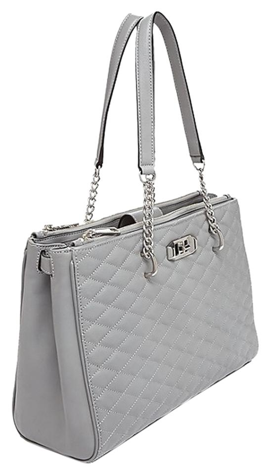 67c765fcb Rebecca Minkoff Love Collection Charcoal Quilted Leather Tote - Tradesy