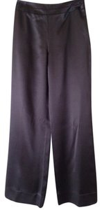 Talbots 100% Silk Straight Pants Brown