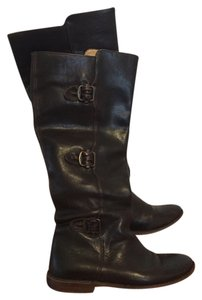Frye Leather Designer Brown Boots